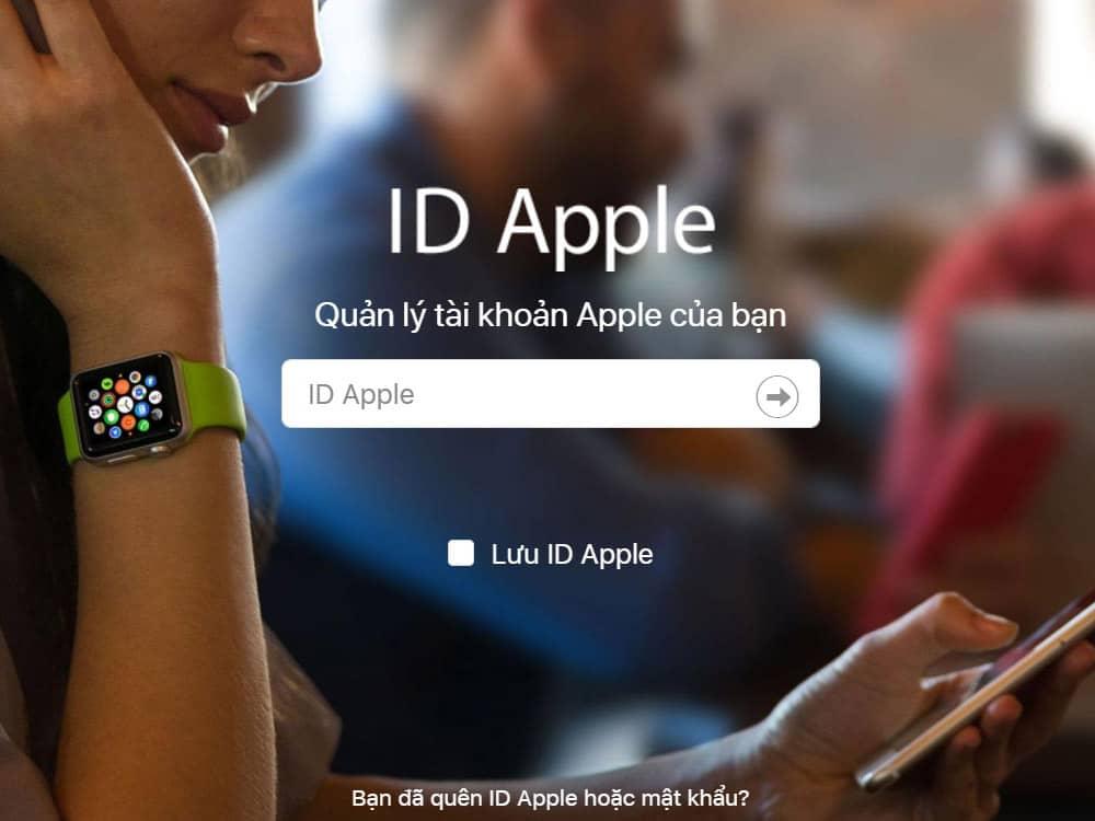 Tạo Apple ID mới miễn phí